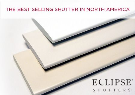 The Best Selling Shutter in North America