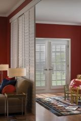 Shutters used as Room Dividers