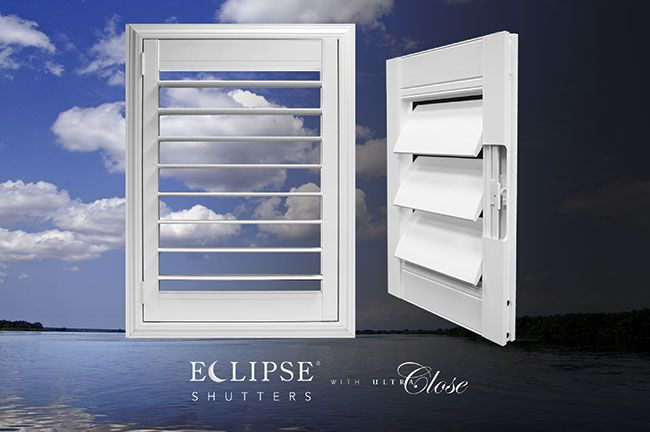 Introducing the New UltraClose™ Hidden Gear Tilt System by Eclipse® Shutters