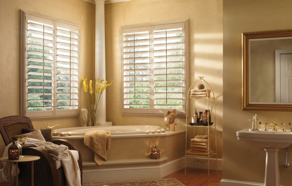 Balance Between Privacy And Light In Your Bathroom With Interior Shutters