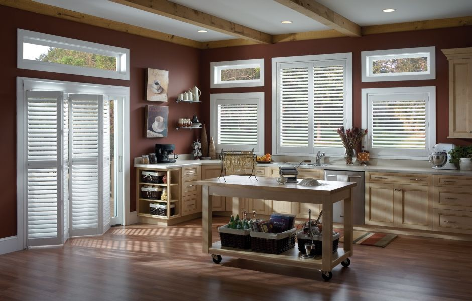 Wonderful Interior Plantation Shutters That Will Look Great In Your Kitchen